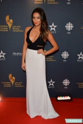 Shay Mitchell - 2014 Canadian Screen Awards in Toronto 3/9/14