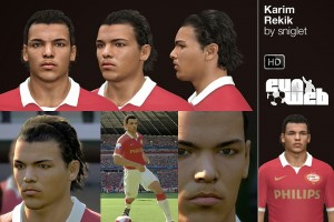 Download PES 2014 Karim Rekik Face by sniglet