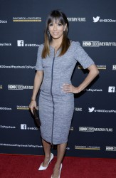 """Eva Longoria - """"Paycheck to Paycheck"""" Premiere in Hollywood 3/10/14"""
