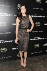 "Emmy Rossum - ""Need for Speed"" Screening in NYC 3/11/14"