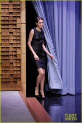 Shailene Woodley - On 'The Tonight Show starring Jimmy Fallon' in NYC 3/12/14