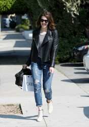 Mandy Moore - Out in LA 3/14/14