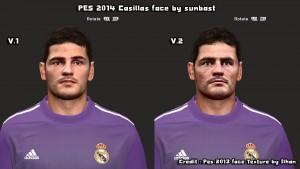 Download Iker Casillas Face PES2014 by sunbast