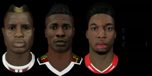 Download Wakaso, Gyan, Sturridge Face by Dizzeespellz