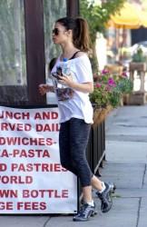 Jenna Dewan-Tatum - Going to the gym in LA 3/16/14