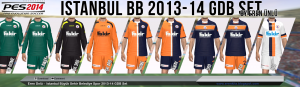 Download PES 2014 Istanbul BB 2013-14 Kits By Eren Unlu