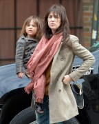 HQ Utopia: Charlotte Gainsbourg catches a cab in New York ... Emma Stone Ring