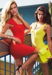 Nina Agdal, Sara Sampaio - BEBE Spring Fling : Destination Miami - March 2014