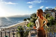 Sara Underwood - On her hotel Balcony in Mexico 3/17/14