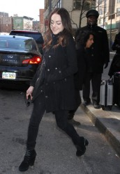 Elizabeth Gillies - Out in NYC 3/18/14