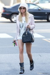 Ashley Tisdale - Leaving Nine Zero One Salon in West Hollywood 3/18/14