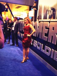 "Scarlett Johansson - ""Captain America: The Winter Soldier"" premiere in  London 3/20/14"