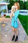 Bella Thorne - Photoshoot at her House