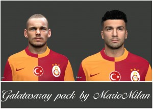 Download Galatasary Mini Pack PES 2014 by MarioMilan