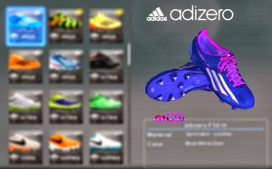 PES 2013 HyperVenum Colorway WC 2014 & Adidas Adizero New Colorway Boots by mC