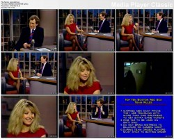 TERI GARR full interview - Letterman - (guessing early 90s?)
