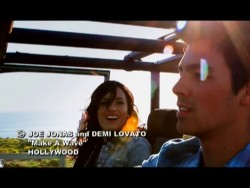 Demi Lovato & Joe Jonas - Make A Wave 480p