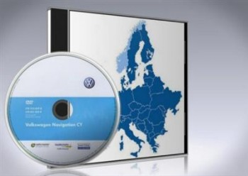 Volkswagen Navigation RNS510 RNS810 V10 Western Europe DVD9 ML - NAViGON