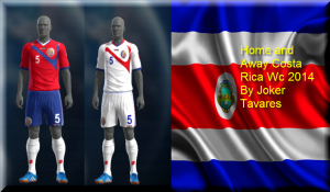 Download PES 2013 Costa Rica WC2014 Kits by Joker Tavares