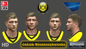 Download PES 2014 Jakub Błaszczykowski Face by ZIUTKOWSKI