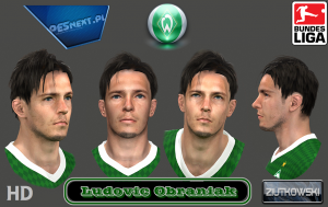 Download PES 2014 Ludovic Obraniac Face by ZIUTKOWSKI