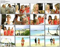 KATIE COURIC beach, bare feet - today show in Anguilla (vhs: date unknown)