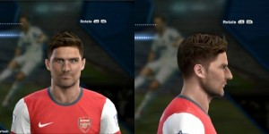 Download PES 2013 Giroud & Balotelli Face by EREKLE JR
