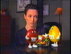 BEBE NEUWIRTH - m&m commercial