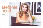 Stefanie Scott - NKD Magazine  April 2014