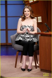 Anna Kendrick - On 'Late Night with Seth Meyers' in NYC 4/1/14