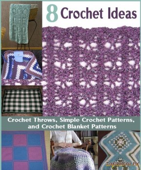 8 Crochet Ideas for Crochet Throws Simple Crochet Patterns and Crochet Blanket Patterns
