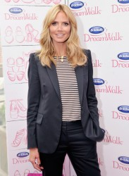 Heidi Klum - Dr. Scholl's DreamWalk Line Launch in NYC 4/2/14