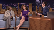 Minnie Driver @ The Tonight Show starring Jimmy Fallon | April 1 2014