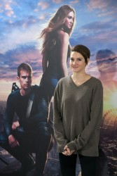 "Shailene Woodley - ""Divergent"" Photocall in Madrid 4/3/14"