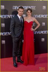 "Shailene Woodley - ""Divergent"" Premiere in Madrid 4/3/14"