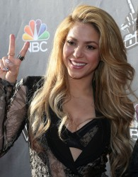 "Shakira - NBC's ""The Voice"" Event in Hollywood 4/3/14"