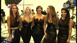 The Saturdays - On Set With ... Not Giving Up 576p