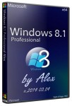 Windows 8.1 Professional by Alex v.2014 03.04.2014 (x64/RUS)