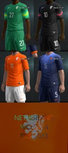 Download PES 2013 Netherlands WC 2014 Kits by Nach