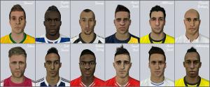 FIFA 14 Facepack 1 by DizzeeSpellz