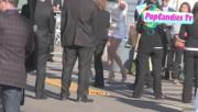 Leaving Film Independent Spirit Awards in Santa Monica (February 23) 092c62319328454