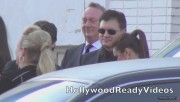 Nina & Ian Arrive to Elton Johns Oscar Viewing Party (February 24) F2a6ed319331042