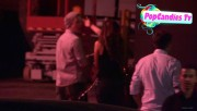 Nina & Derek Hough Holding hands while hiding from Paparazzi at The Roosevelt LA (October 5) 02c413319507938