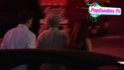 Nina & Derek Hough Holding hands while hiding from Paparazzi at The Roosevelt LA (October 5) 4195c9319507689