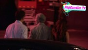Nina & Derek Hough Holding hands while hiding from Paparazzi at The Roosevelt LA (October 5) 4f447a319507702
