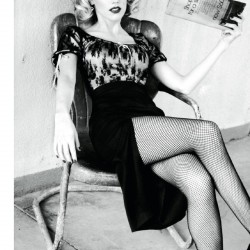 Amber Heard – DT Magazine legs crossed chair