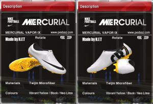 Download PES 2014 CR7 new boot by H.F.T ( update 10.04 )