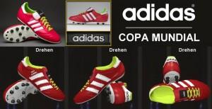 Download Adidas Copa Mundial Samba FG - Berry/White/Slime