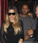Khloe Kardashian - Leaving Hooray Henry's in West Hollywood 4/9/14