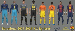 Download PES 2014 Barcelona 2013 Kit by Aref